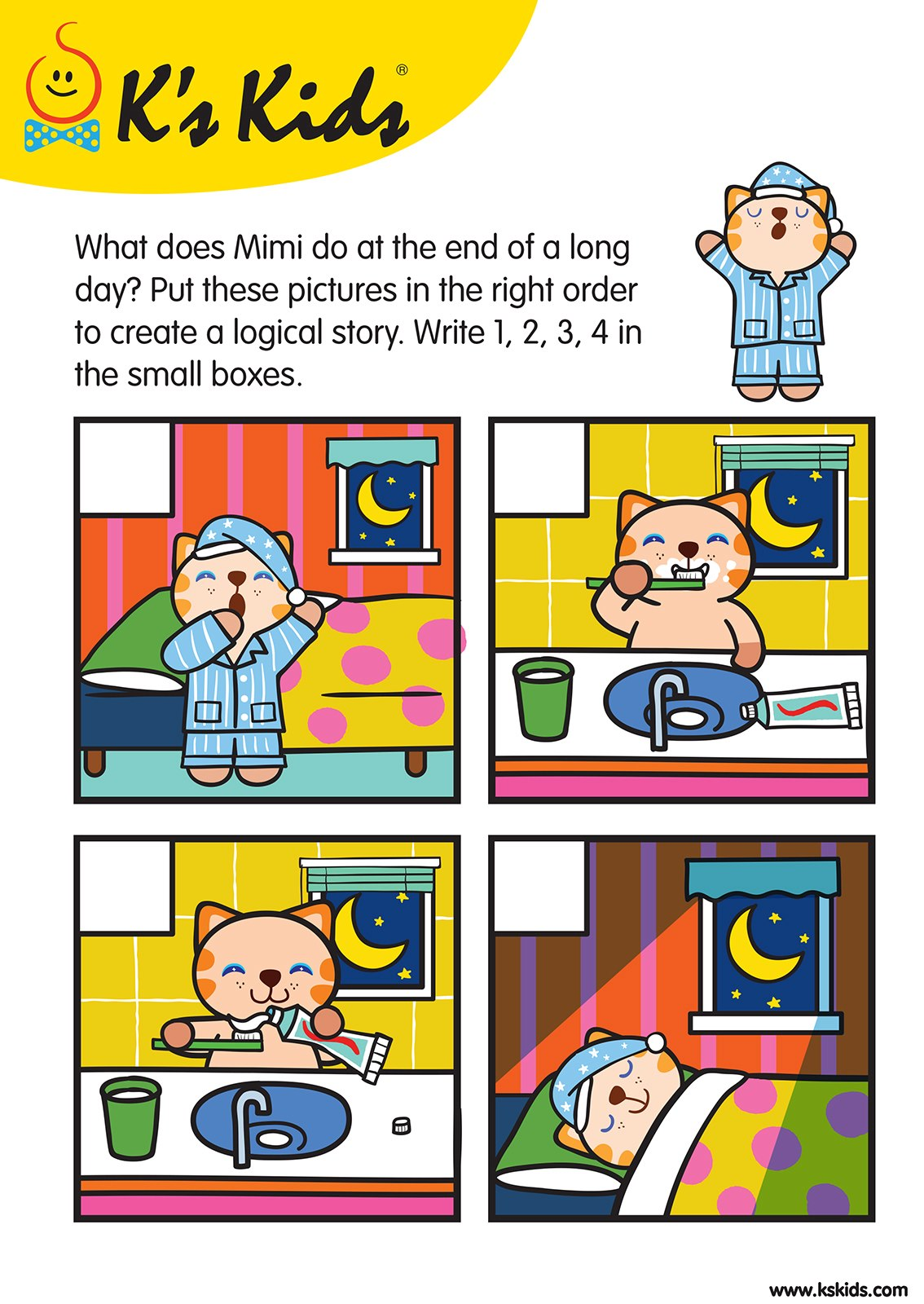 Level 3 Story Sequence