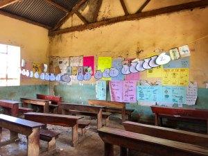 Ugandan-Schoolroom