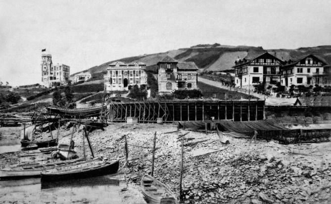 Zumaia. Astilleros Ondartxo (Foto Archivo ZIIZ)