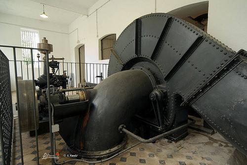 Turbina. Foto Santi Yaniz