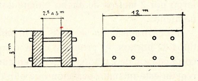 Carbonización entre paredes.