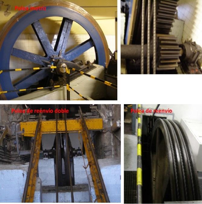 Funicular de La Reineta. Elementos de la segunda fase de reducción. (Fotos: BOPV)
