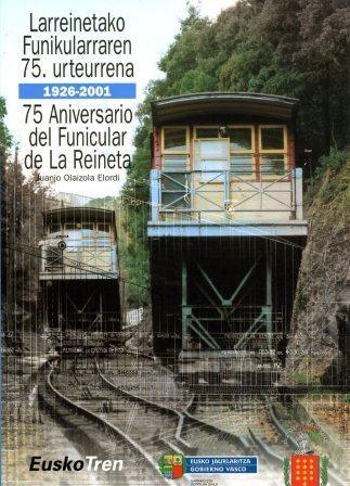 Portada de la publicación conmemorativa de los 75 años del funicular de la Arboleda.