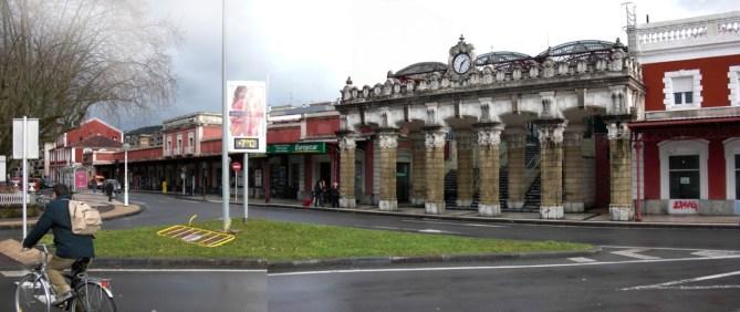 Estación del Norte de Donostia-San Sebastián. (Lista Roja