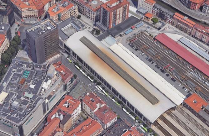 Bilbao. Estación de ferrocarril de Abando- Indalecio Prieto, antigua estación del Norte.