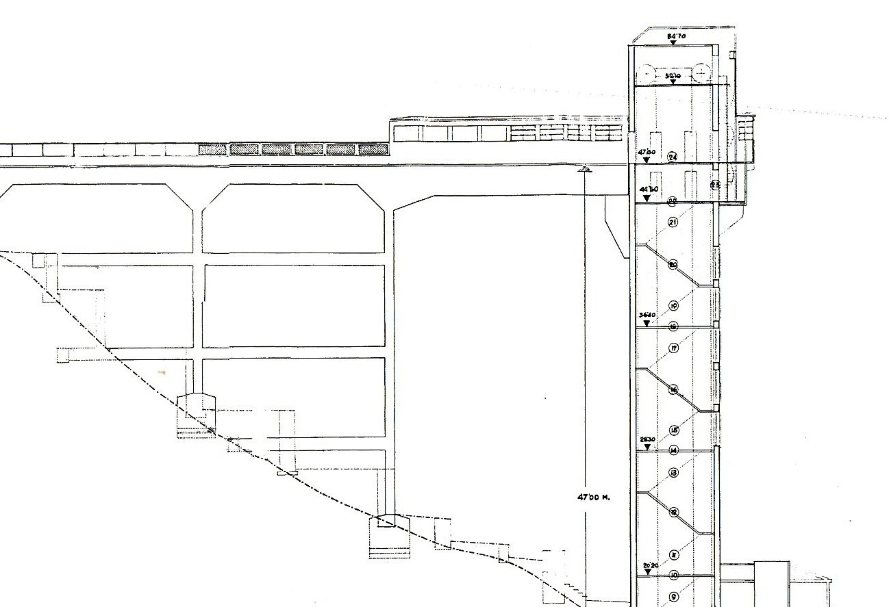 El arquitecto rafael font n y el ascensor de bego a o de - Arquitectos en bilbao ...