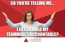The Five Behaviors of a Cohesive Team Accountability