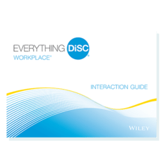 Everything DiSC Workplace Interaction Guides
