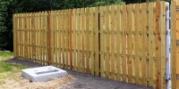 Patriot Fence Commercial Wood