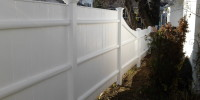 Patriot Fence Staining