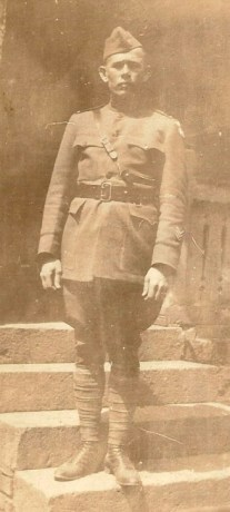 1st Lt. Glenn A. Ross - U.S. Second Division - 1919