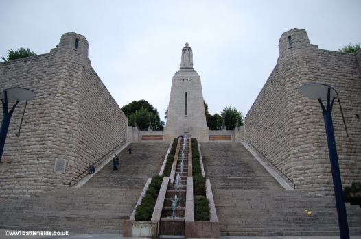 Victory Monument, Memorial of Verdun, France.
