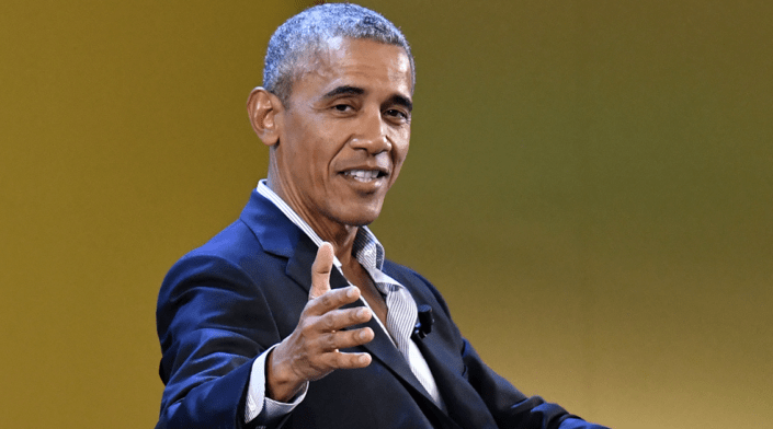 Obama says he's from Kenya in video taped speech