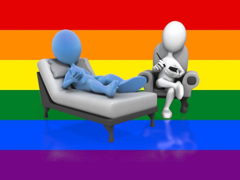 Medizinische Hilfe für Homosexuelle ist kein Verbrechen!