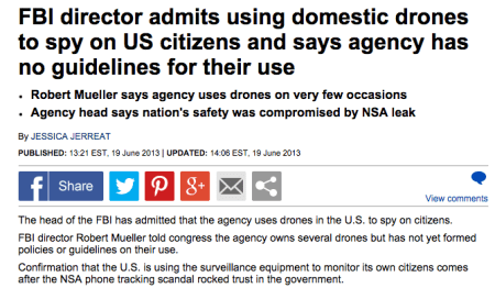 FBI admits drones spying on us cit