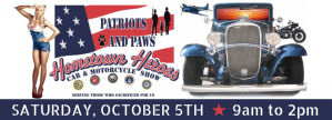 5th Annual Patriots and Paws Car Show 2019