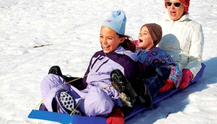 Παιδά στα χιόνια