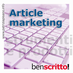 Article Marketing - Patrizia Pisano