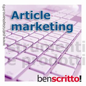 Article Marketing - Patrizia Pisano