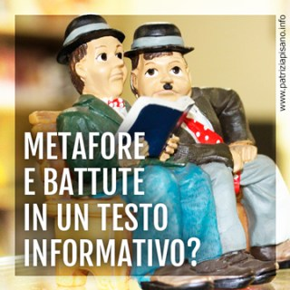 Metafore e Battute in un Testo Informativo
