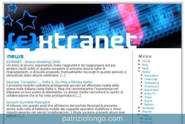 Extranet web 2006