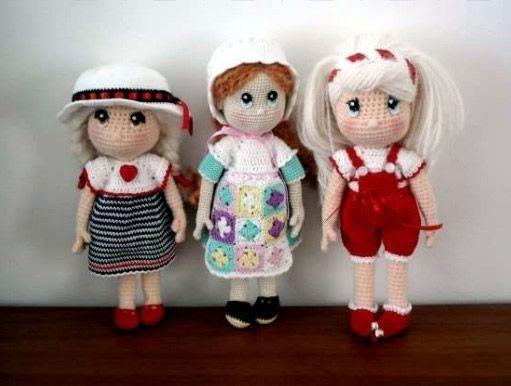 Muñecas amigurumi Candy