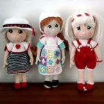 Muñecas amigurumi Candy patrón