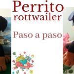 Perrito rottweiler amigurumi paso a paso