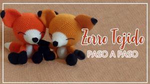Zorro amigurumi tejido a crochet