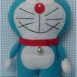 Doraemon en fieltro