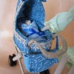 Carrito de bebé para Tilda