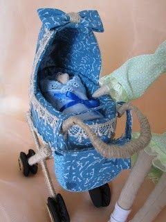 carrinho de bebe para Tilda