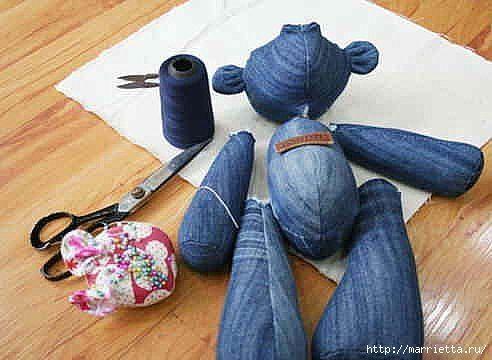 oso de pantalones vaqueros 4