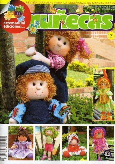 revista de muñecas