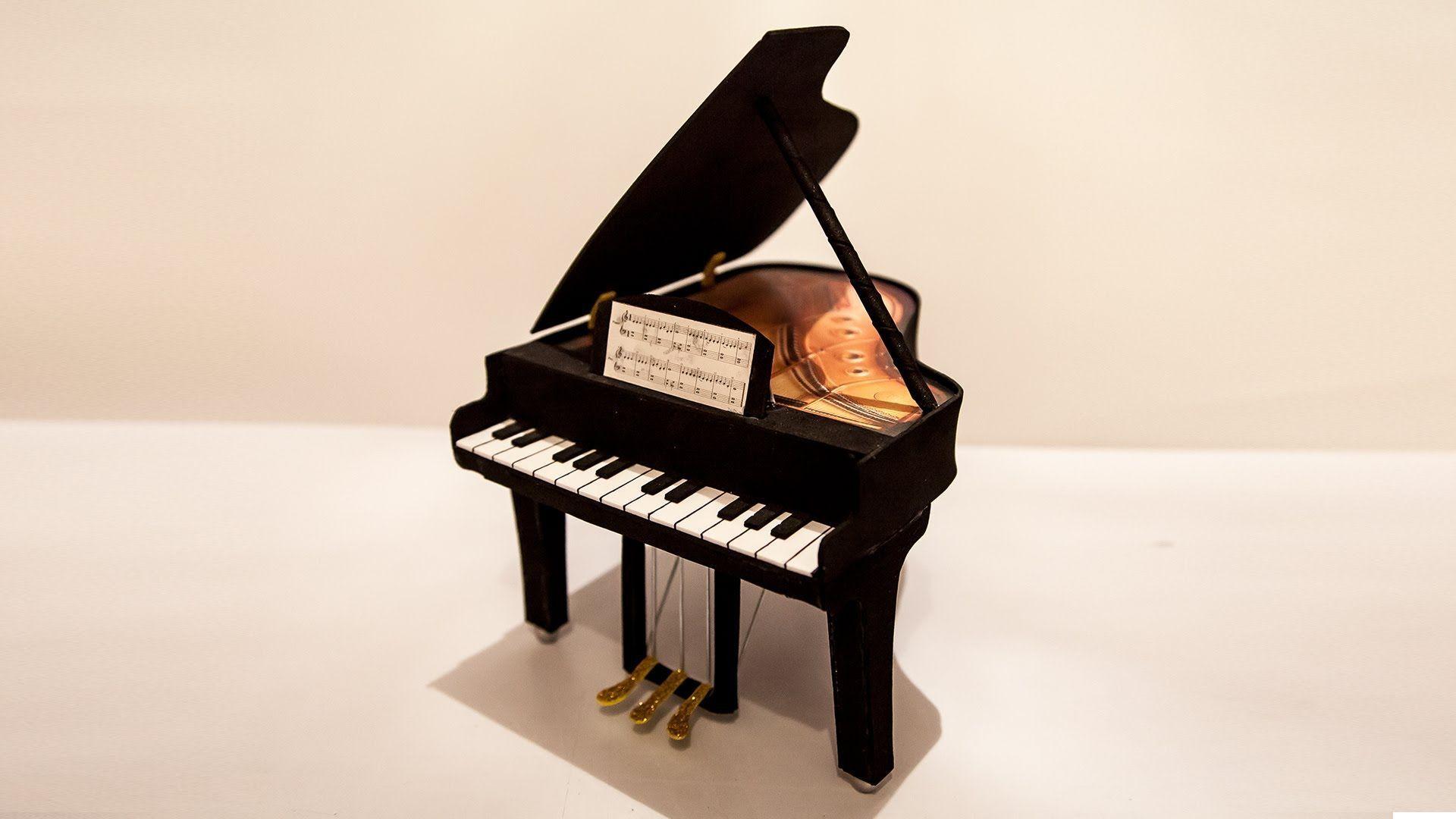 Piano en goma eva - Patrones gratis ec4d4bbfb9b