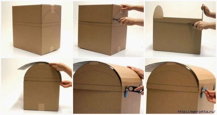 baul de carton para juguetes 2