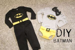 disfraz batman para niños