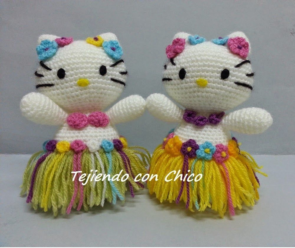 Hello Kitty Amigurumi Patrón a Ganchillo * Saekita Ganchillo * | 841x1000