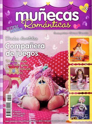 muñecas romanticas - Revista para hacer muñecas con patrones