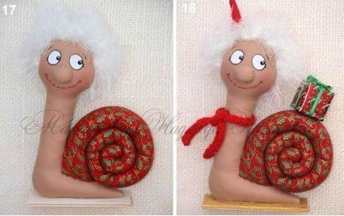 muñeco caracol 10