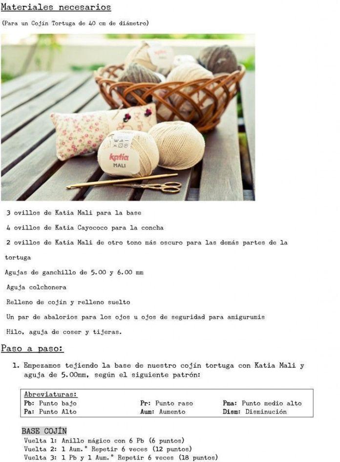tortuga crochet 2
