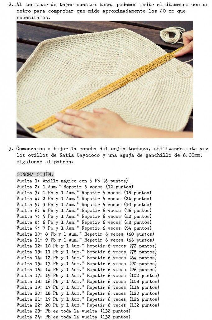 tortuga crochet 4 - Patrones gratis