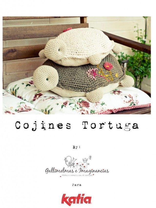 Cojines de tortugas - Patrones gratis