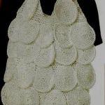Bolso de círculos en crochet