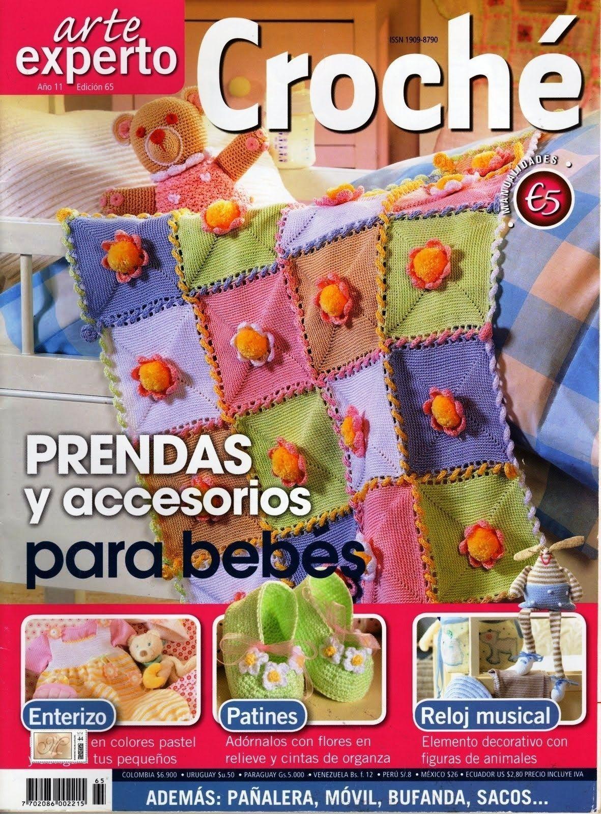 Prendas y accesorios para bebes en crochet - Patrones gratis
