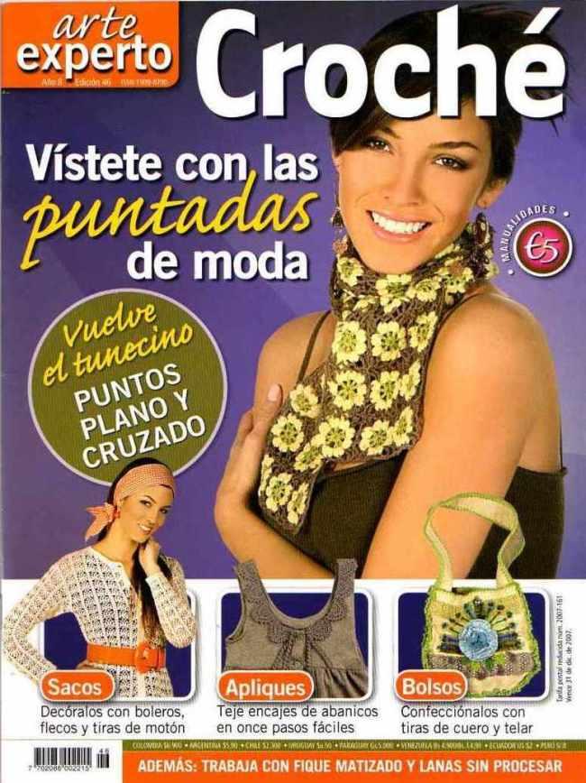revista crochet complementos