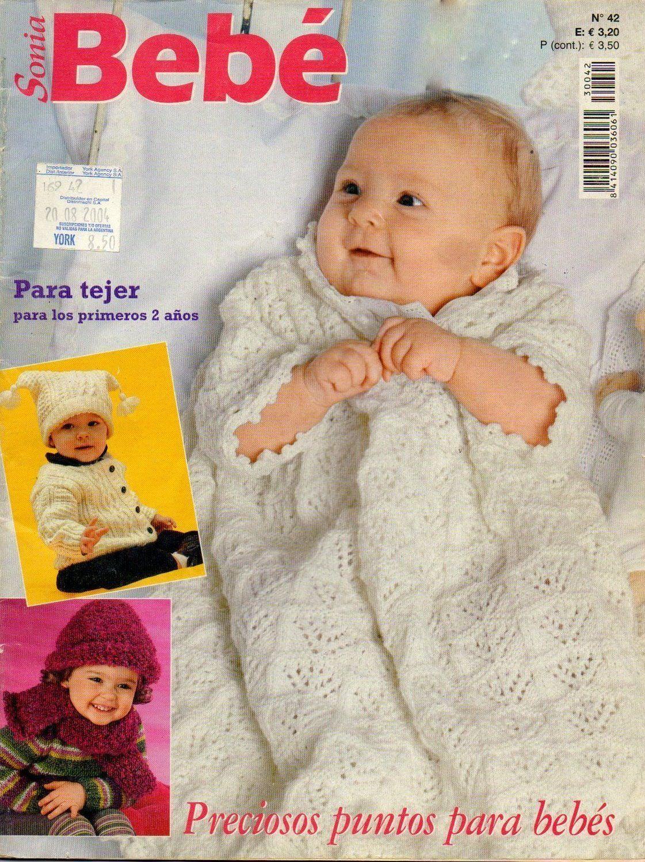 Ropa de bebé revista completa - Patrones gratis