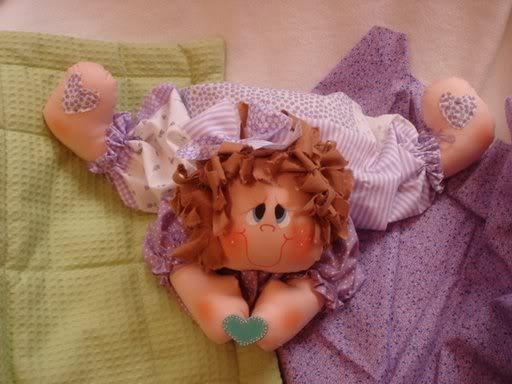 Muñeca tumbada