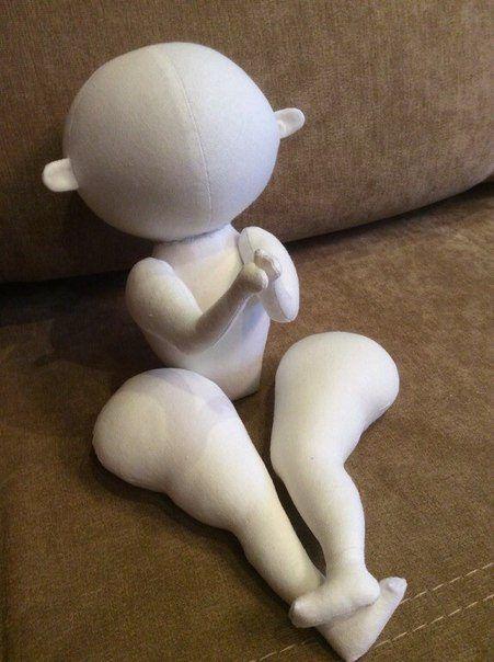 Muñecas trillizas en tela 5