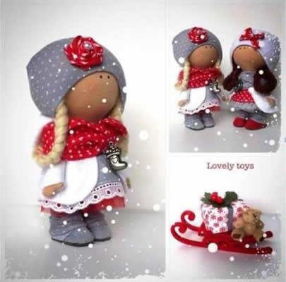 Кукла тильда бохо выкройка